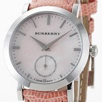 Montre Burberry Signature Ladies rose_cadran