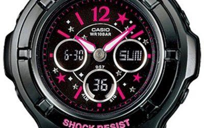 Montre Casio femme Baby G BGA121C