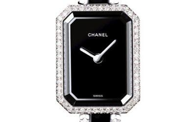 Montre Chanel Premiere or blanc Diamants ceramique