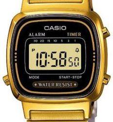 Montre femme Casio Vintage dorée
